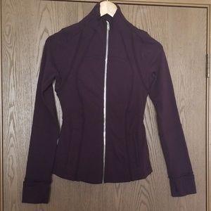 Lululemon Purple Define Full Zip Jacket size 4